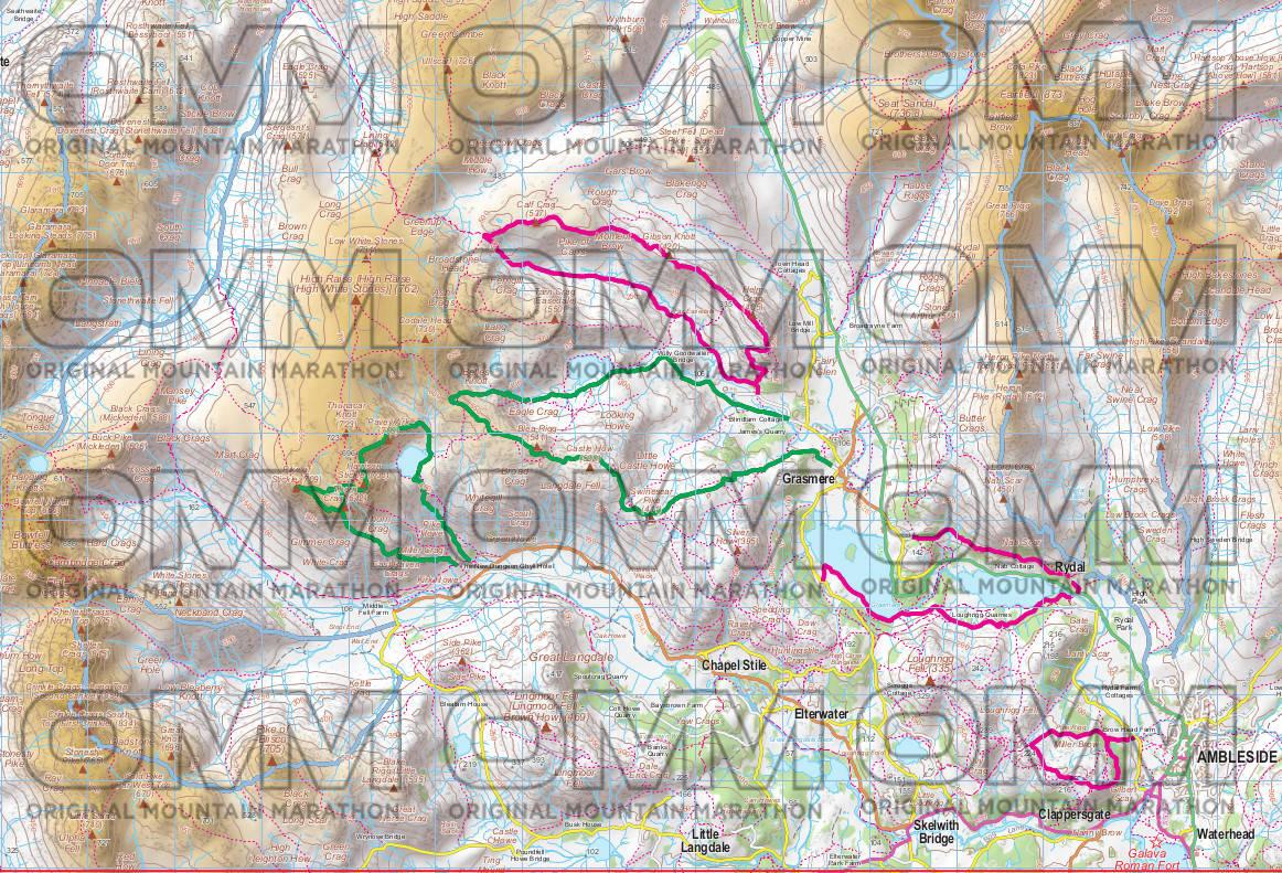 lovell john OMM map