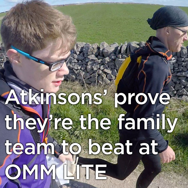 Atkinsons' prove they're the family team to beat on the OMM LITE