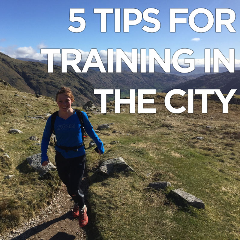 5 tips for training in the city