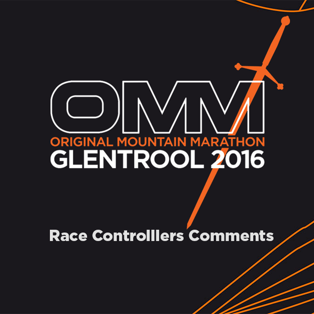 OMM 2016: Race Controllers Comments