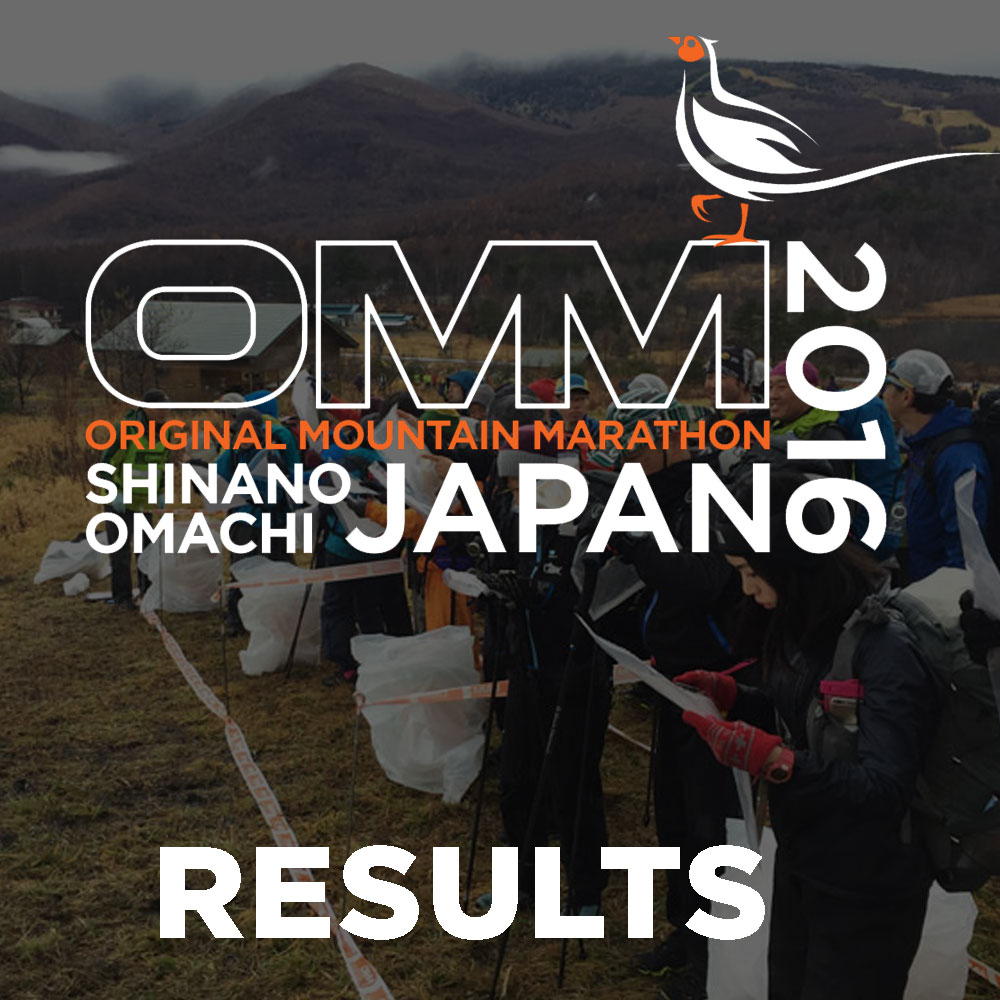 RESULTS: OMM JAPAN 2016