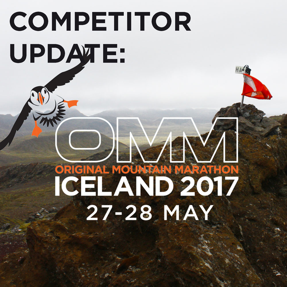 COMPETITOR UPDATES: OMM ICELAND 2017
