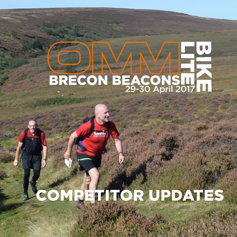 COMPETITOR UPDATES: OMM LITE/BIKE Brecon Beacons 2017