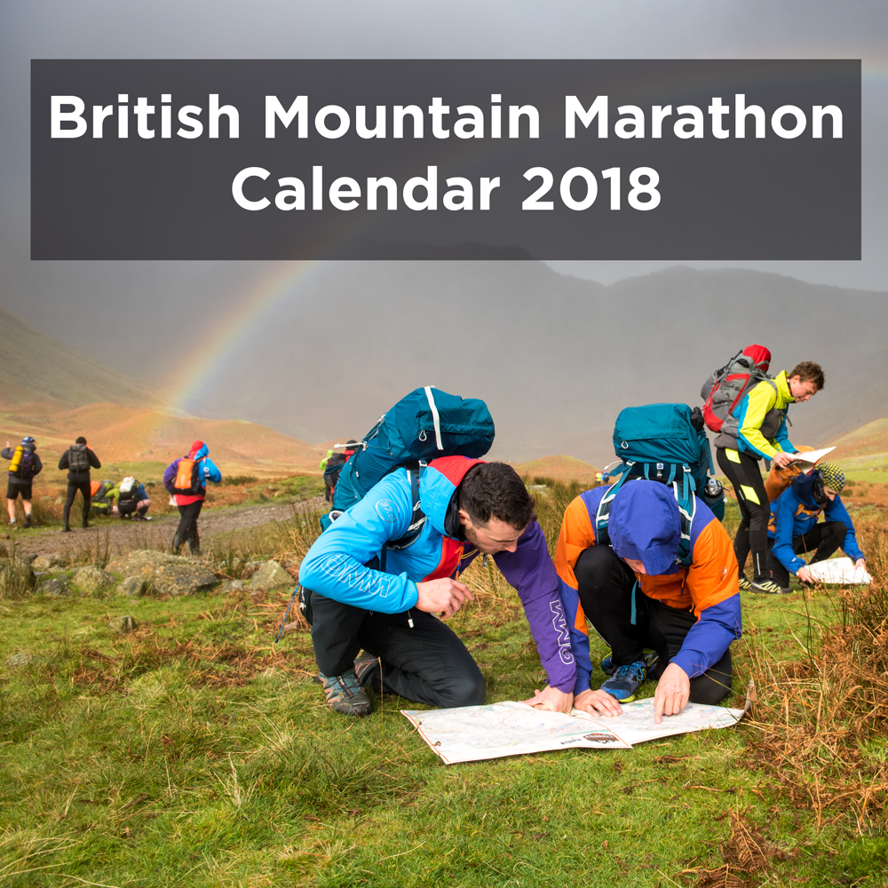 British Mountain Marathon Calendar 2018