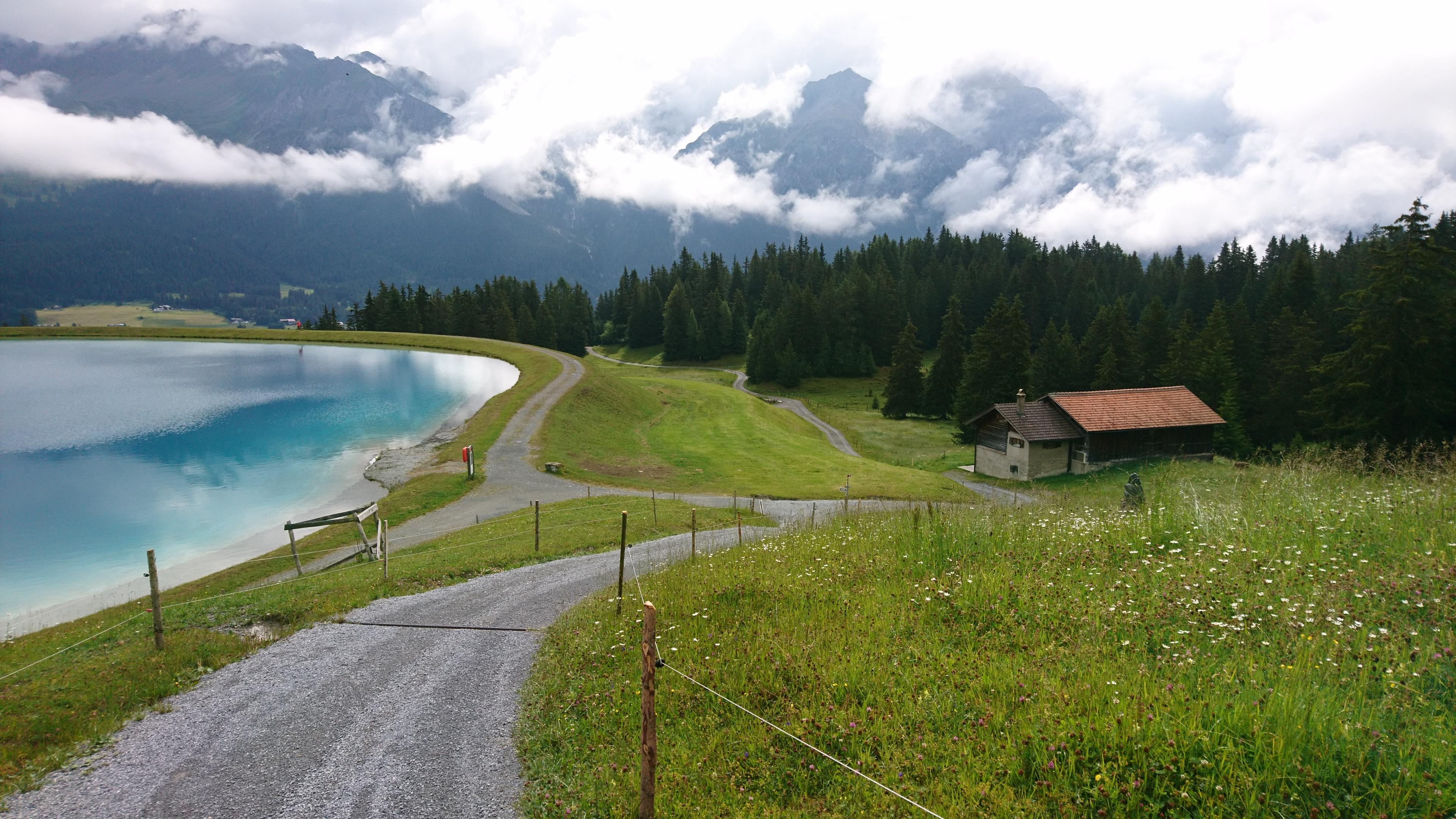 Landschaft in den Alpen, Schweiz