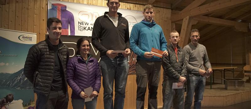 Die Sieger des Events OMM Alps 2017